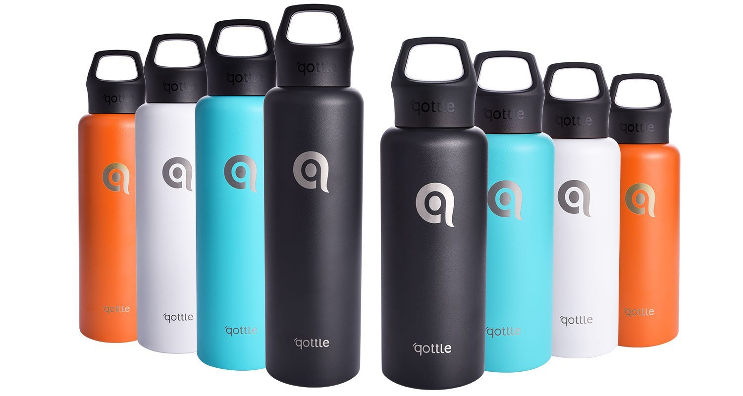 Holiday Guide: Vacuum Insulated Water Bottles from Qottle - Mommy Katie