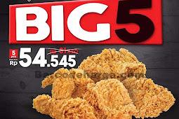 Harga Promo KFC Terbaru 23 - 25 Oktober 2018