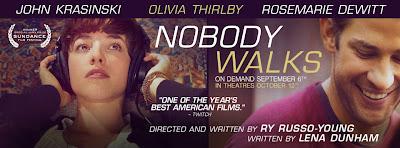 Nobody Walks (2012) - Poster
