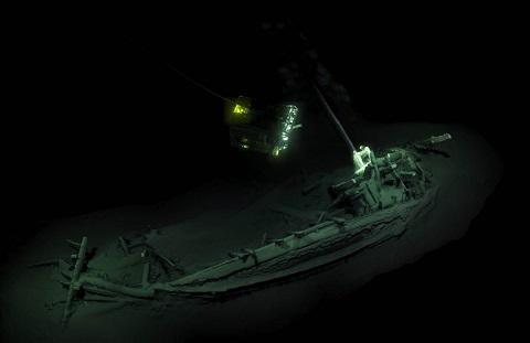 La plus ancienne épave intacte au monde découverte dans la Mer Noire