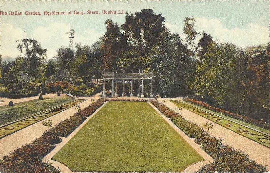 Old Long Island Claraben Court Garden