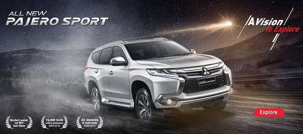 Pilihan Warna Mitsubishi Pajero Sport