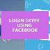 Login In Skype with Facebook