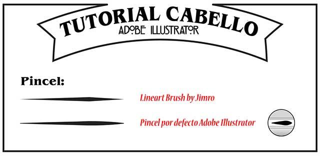Tutorial en español de Adobe Illustrator para Crear Cabello Estilizado