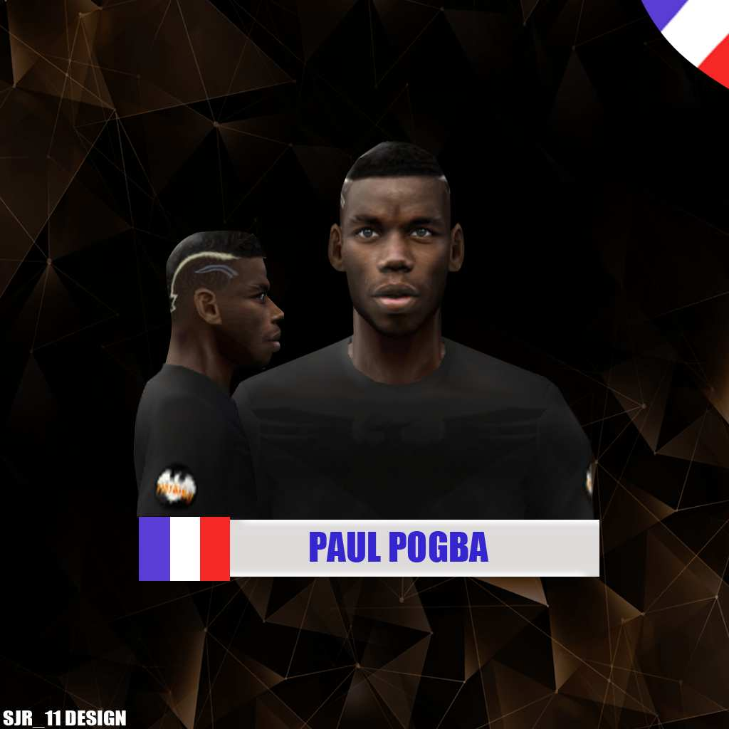 Ultigamerz Pes 2010 Pes 2011 Face: Ultigamerz: PES 6 Paul Pogba (France NT) Face & Hair Euro 2016