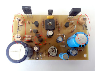 10W Stereo Audio Amplifier with Transistors