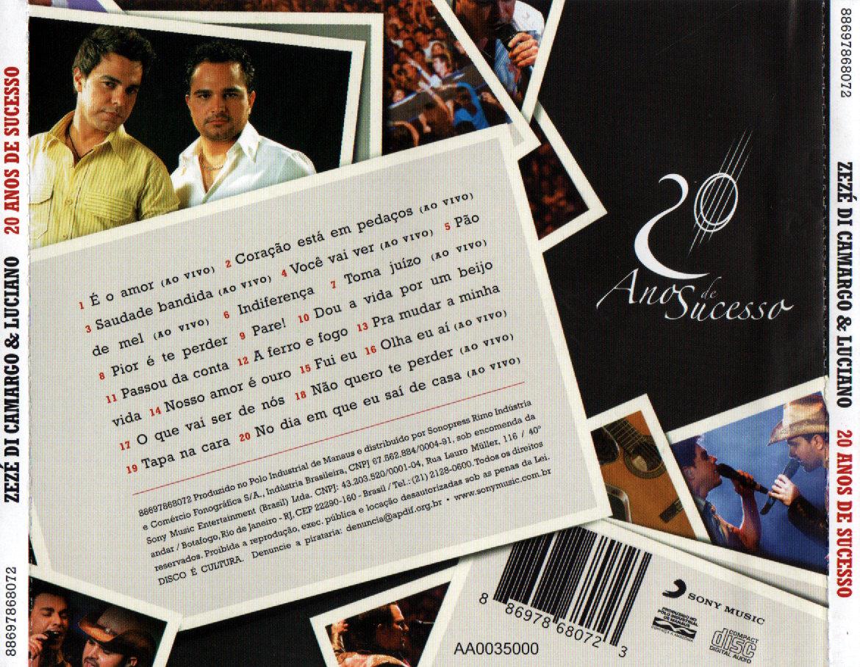 Filme: zeze di camargo & luciano 20 anos de sucesso | livraria.