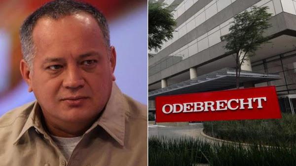 Investigan en España presuntos sobornos pagados por Odebrecht a Diosdado Cabello en ese país