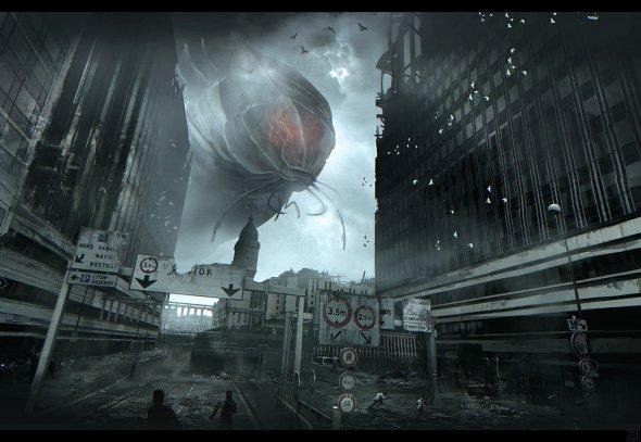 Nicolas Ferrand ilustrações artes conceituais ficção científica games