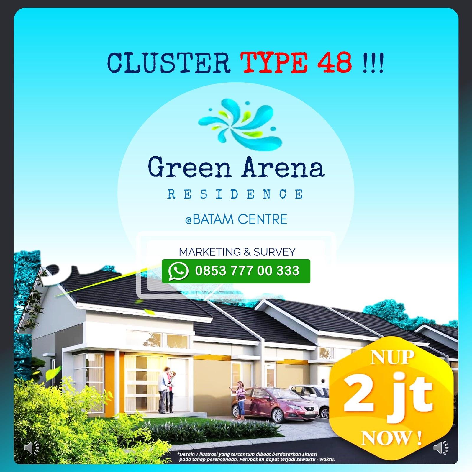 Perumahan Green Arena Residence Batam Centre