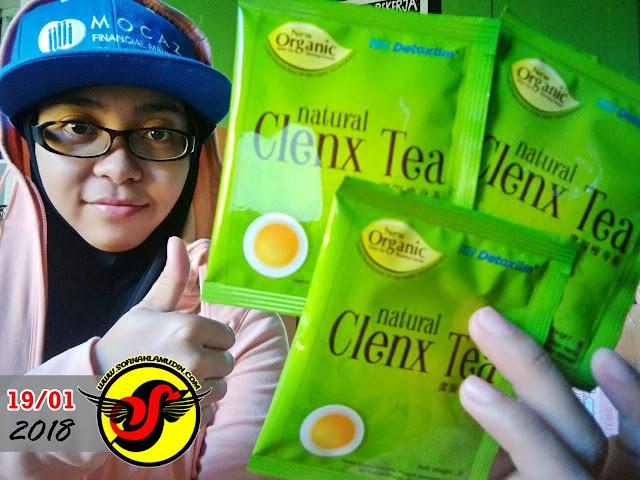 Manfaat dan Faedah Mengamalkan Detoks Natural Clenx Tea - Sofinah Lamudin