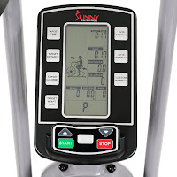 Sunny Health & Fitness SF-B2706 Tornado Air Bike's advanced monitor, image