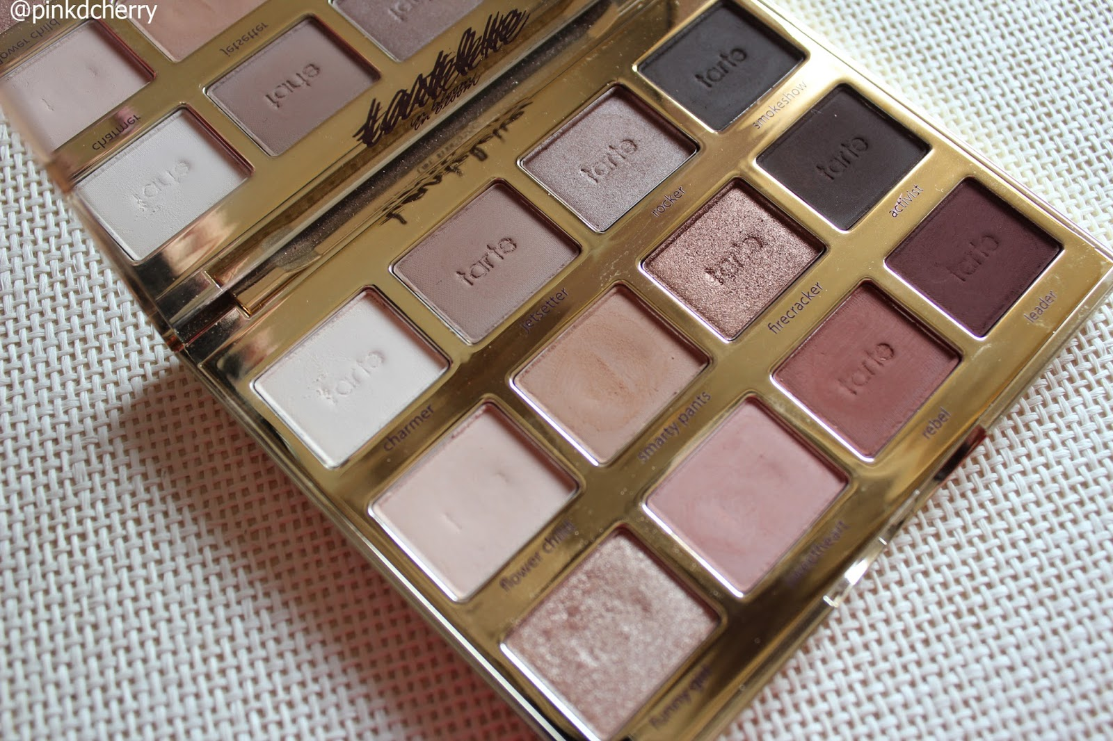 Tartalette in bloom paleta de sombras