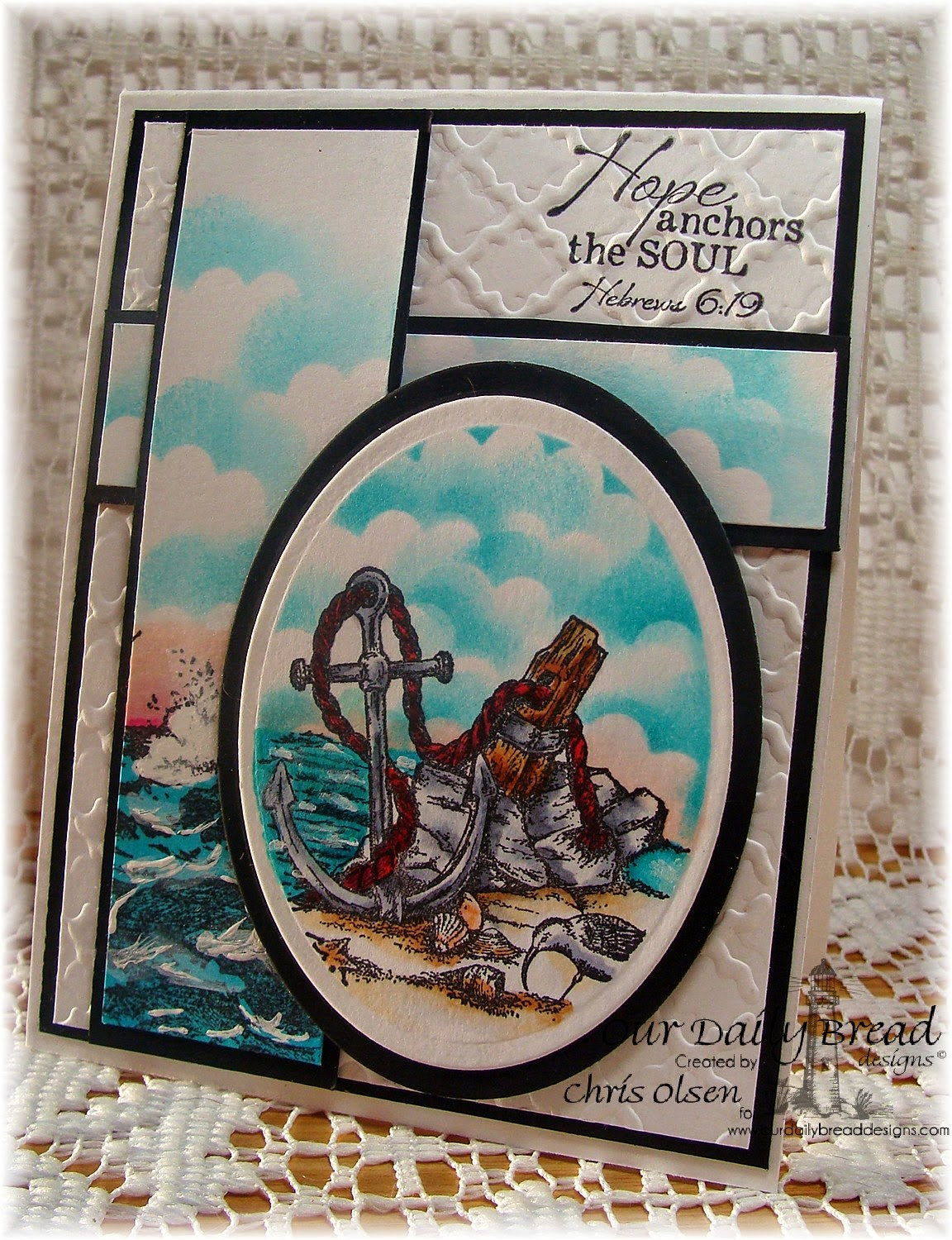 Our Daily Bread Designs, Anchor the Soul, The Mighty Sea, designer-Chris Olsen