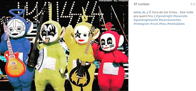 teletubbies kiss rock boa noite