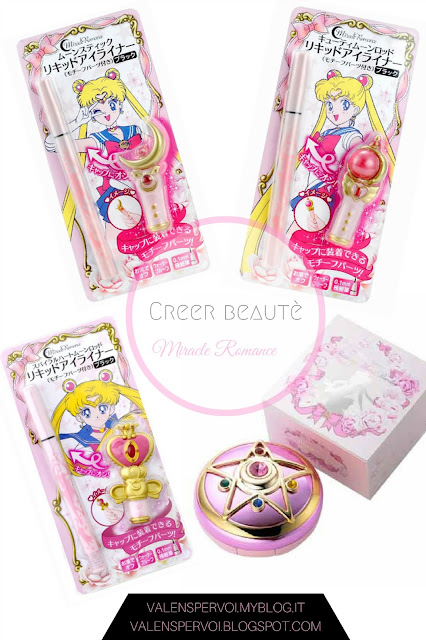 Miracle Romance make-up by Creer Beauté inspired by Sailor Moon