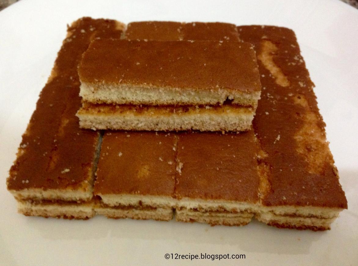 Layered Vanilla Cake Recipes: Choco Layered Vanilla Cake