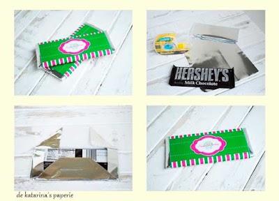 178 Plantillas de Envolturas para Chocolatinas