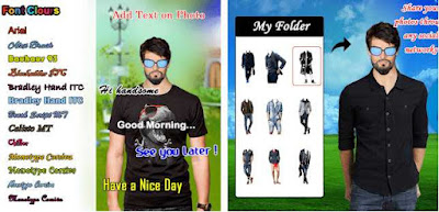 Men T-Shirt Designs Photo Montage
