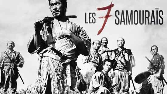 Les 7 samouraïs, de Kurosawa