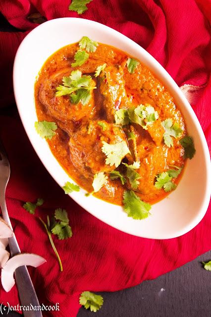 restaurant tyle easy prawn bhuna masala recipe