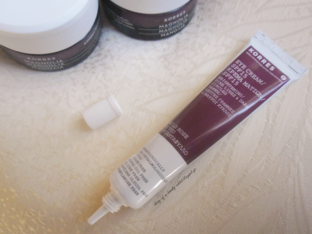 Korres Wild Rose Eye Cream SPF15