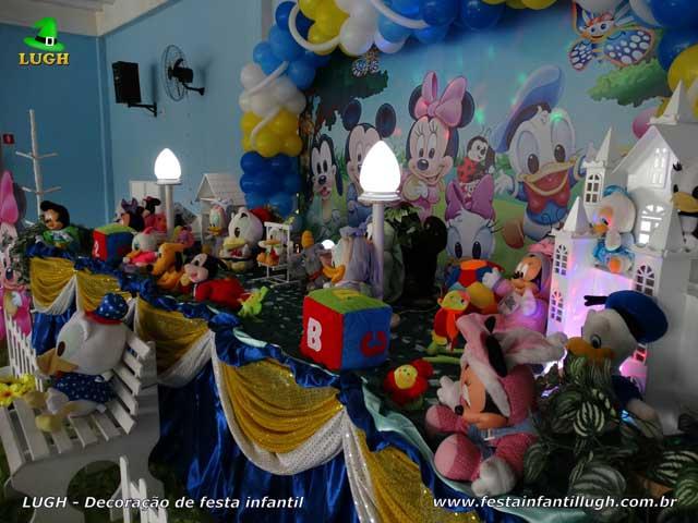 Decoração infantil Baby Disney - mesa decorativa de festa