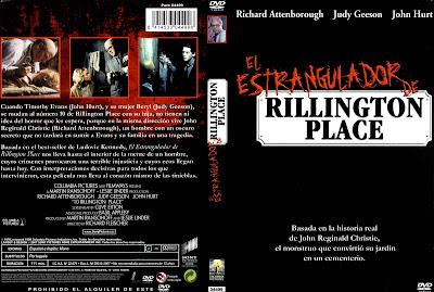 Carátula dvd:El estrangulador de Rillington Place / 10 Rillington