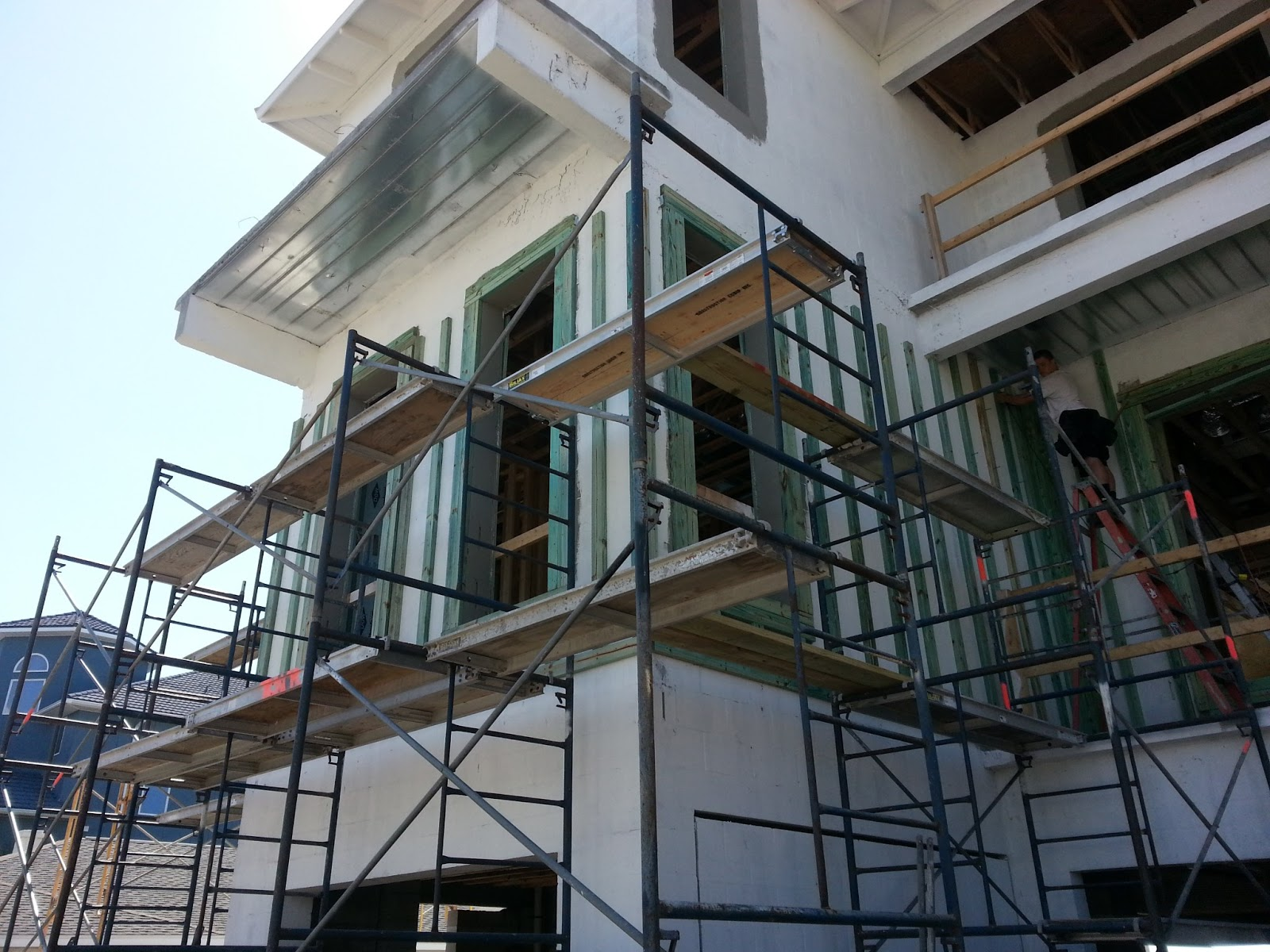 Exterior Trim and Siding Installation | The Schmidt Residence