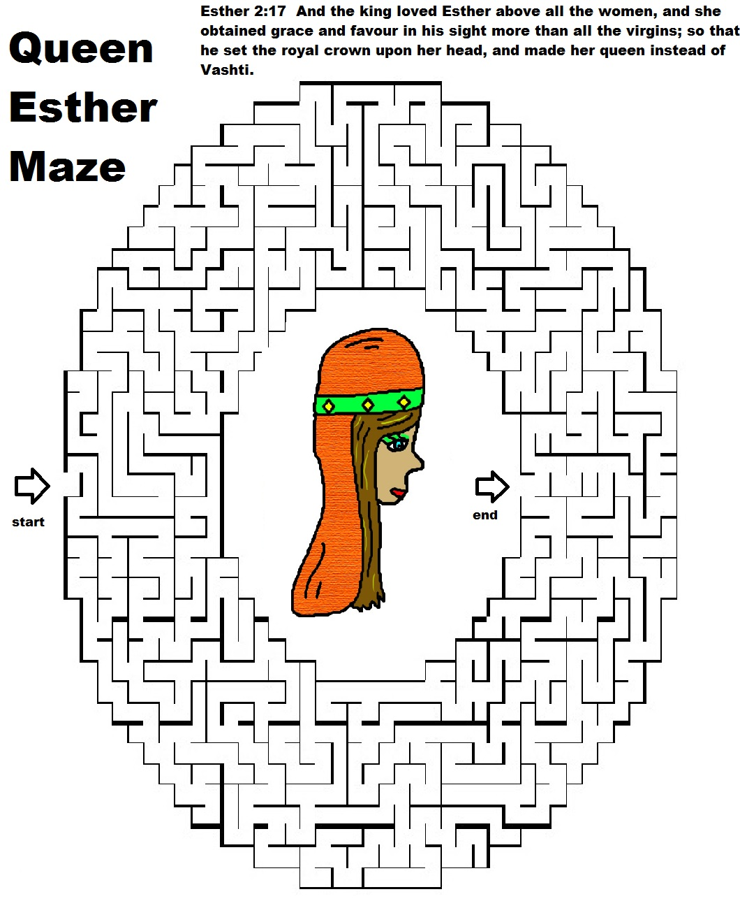 Church House Collection Blog: Queen Esther Maze