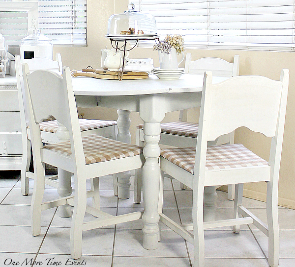 buffalo check, neutral, white, kitchen, kitchen table, french country, decorating
