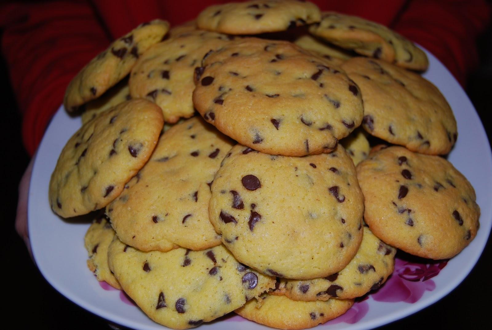 Ricette di famiglia facili e veloci biscotti con gocce di for Ricette dolci facili e veloci