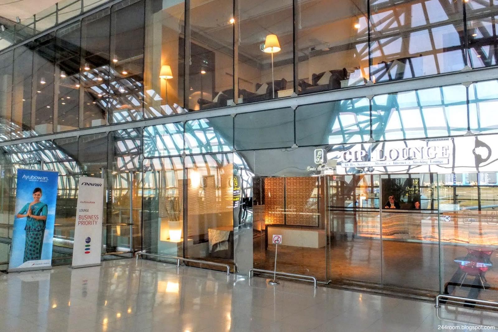 スワンナプームCIPラウンジF-entrance2