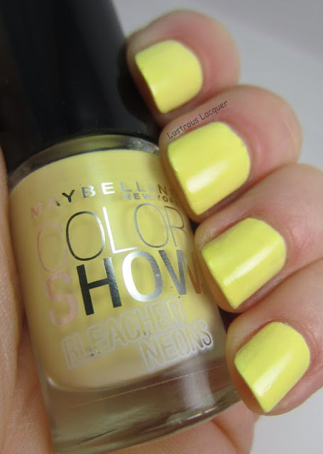 Maybelline Citrus Collide Bleached Neons Collection