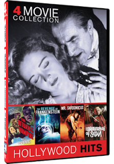 DVD Review - 4 Movie Collection: The Return of the Vampire/ The Revenge of Frankenstein/ Mr. Sardonicus/ The Brotherhood of Satan