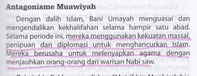 Syiah Menyebut Muawiyah sebagai Seorang Antagonis