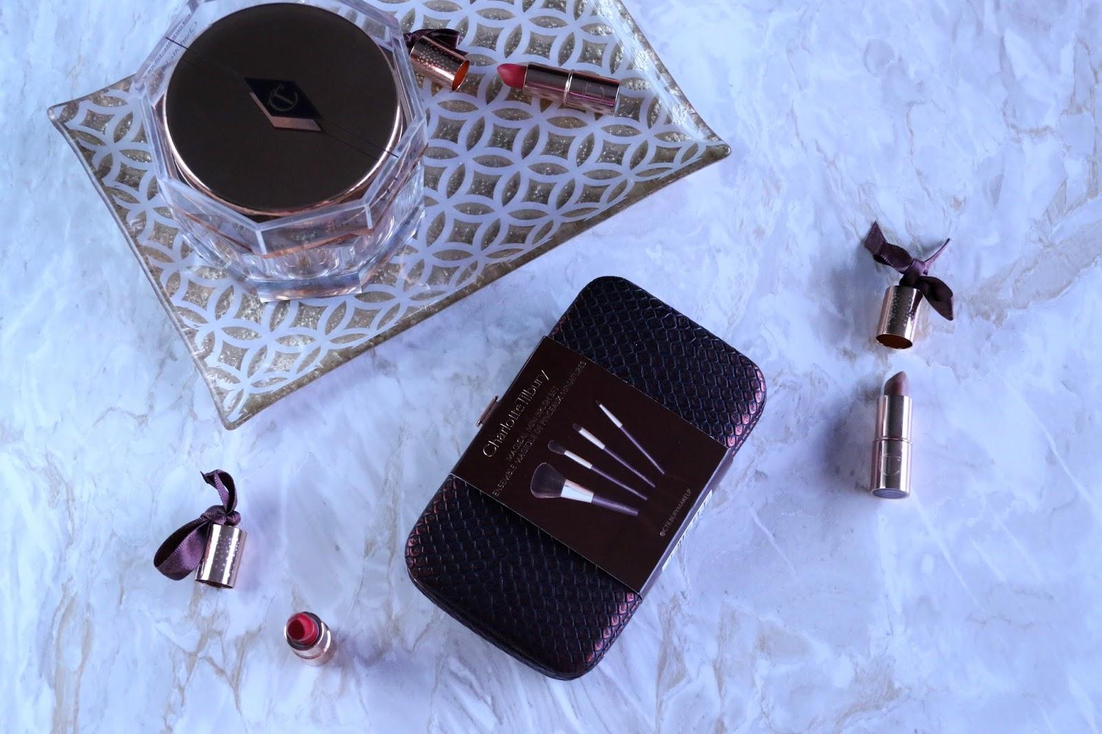 Charlotte Tilbury Magical Mini Makeup Brush Set Review