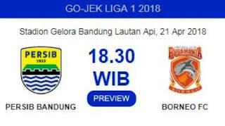 Tiket Persib vs Borneo FC