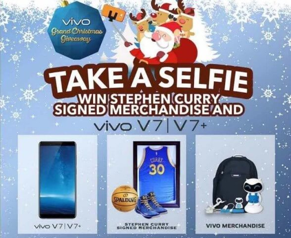 Take a Selfie Using Vivo V7, V7+ and Get a Chance to Win a Stephen Curry-signed Merch and More!