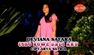 Lirik Lagu Cobo Kowe Dadi Aku - Deviana Safara