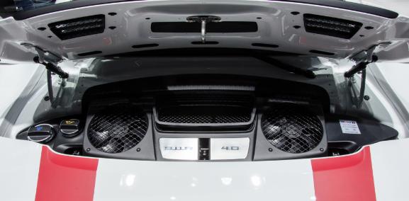 2017 Porsche 911 R Engine