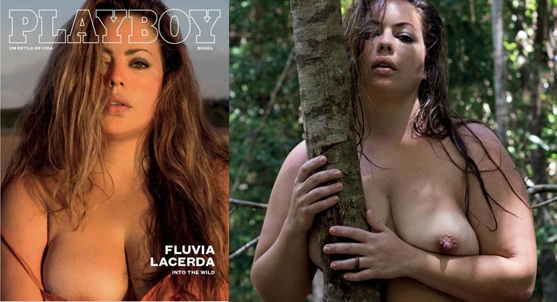 Playboy Fevereiro – Fluvia Lacerda nua