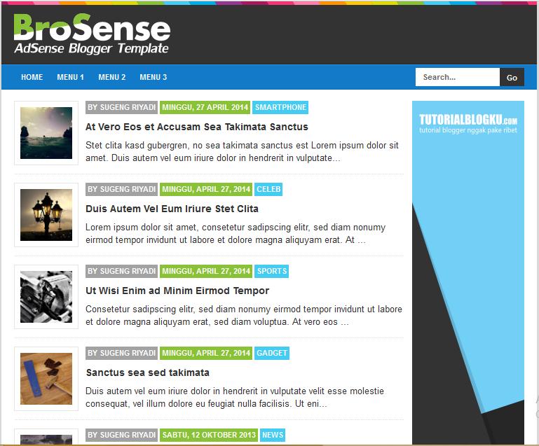 Brosense V2 High CTR Responsive Blogger Template - High CTR Blogger ...