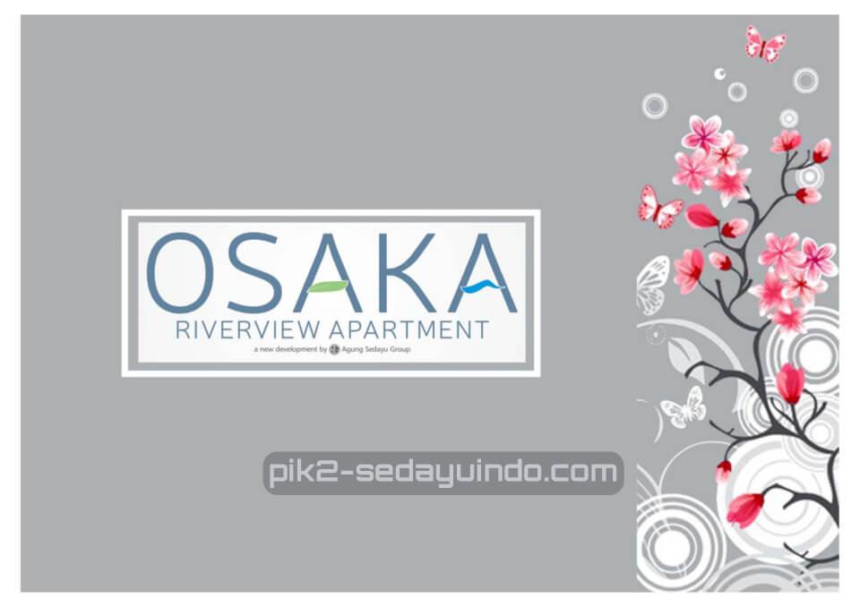 Brosur Osaka Riverview Apartemen PIK 2 Jakarta