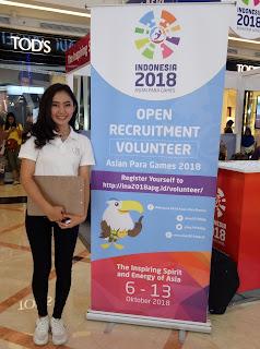 Booth sosialisai APG 2018 di TSM Bandung