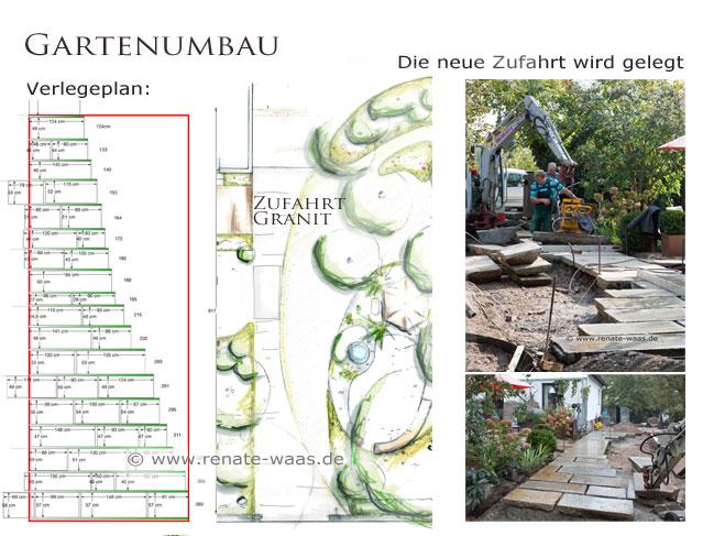 Garten planen München, Verlegeplan Belag, Platten legen, Ausführungsplanung, Gartengestaltung  München, Gartenumbau München
