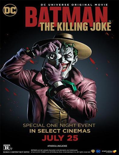 Ver Batman: La broma asesina (2016) Online