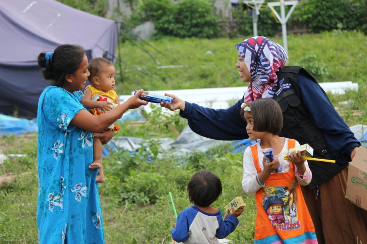 3 Hal Yang Dilakukan Bank Mandiri untuk Korban Gempa di Palu, Mandiri Percepat Bangun Sekolah di daerah bencana, Menyediakan 250 Hunian Sementara, Mendirikan Posko Trauma Healing