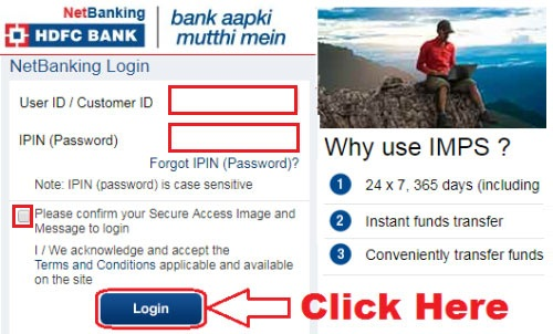 how to request for cheque book in hdfc bank online