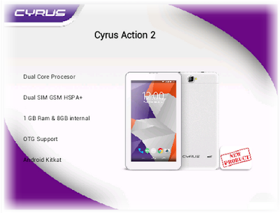 Tablet Murah Ram 1gb Cyrus Action 2